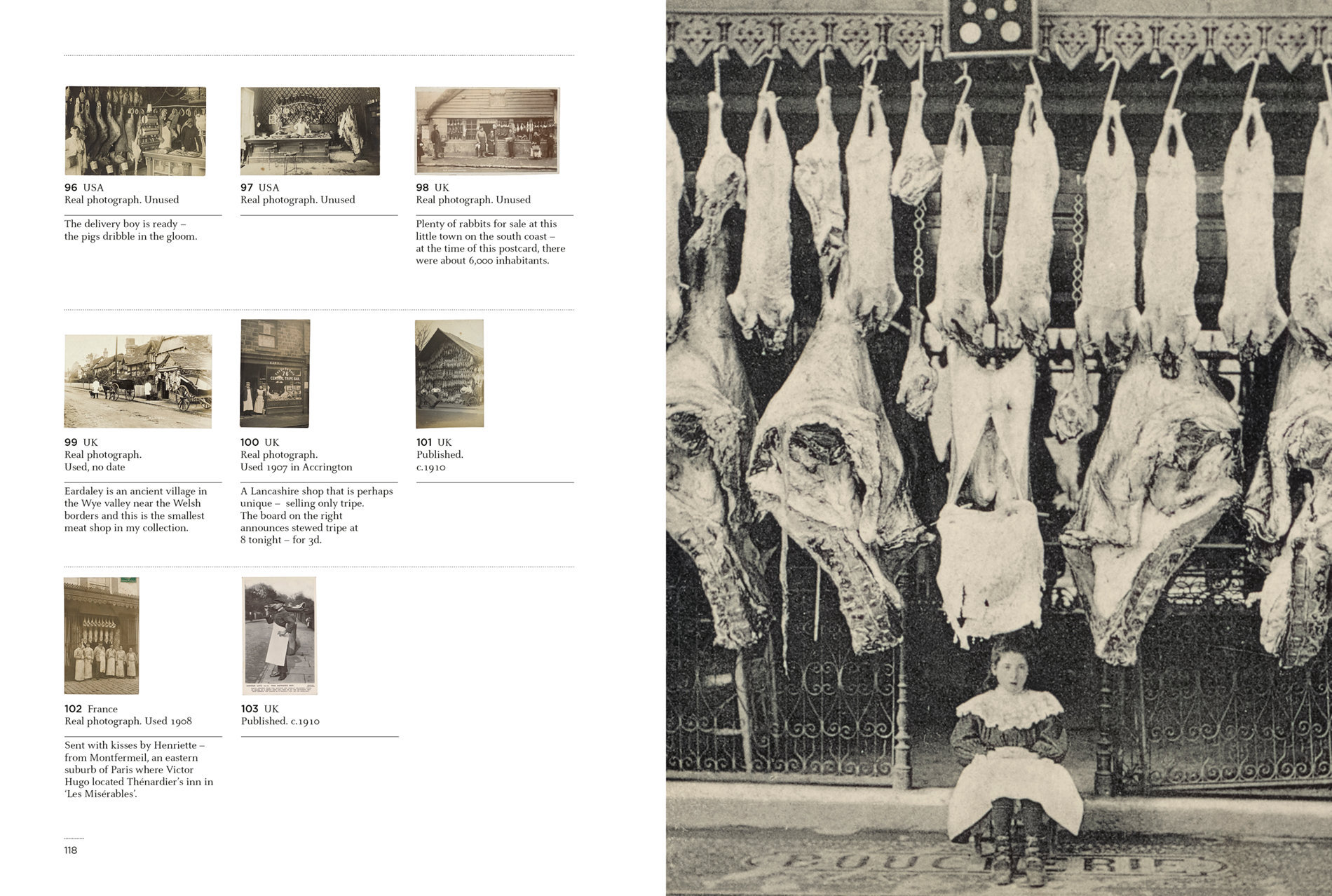Kasmin's Postcards - Meat