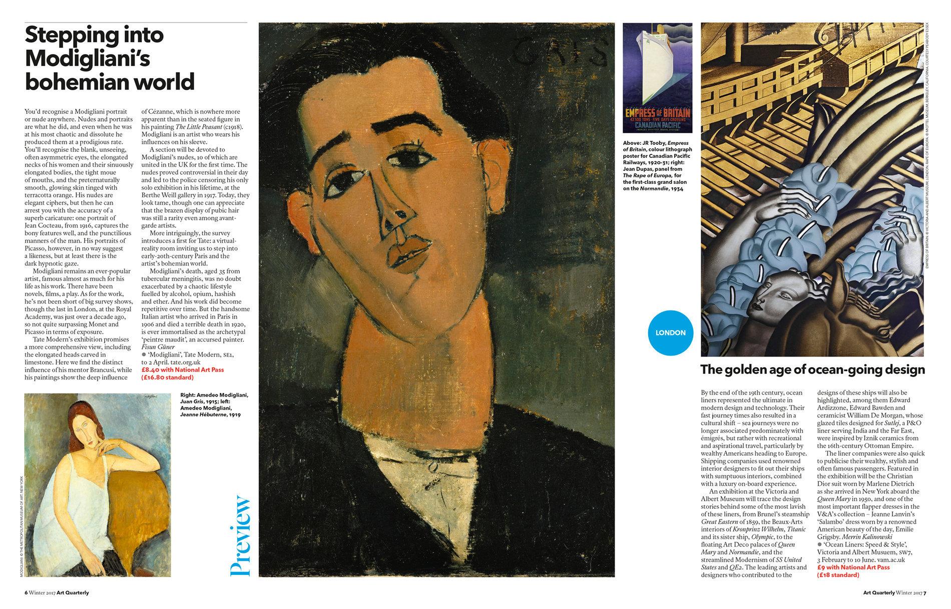 Art Quarterly Winter 2017