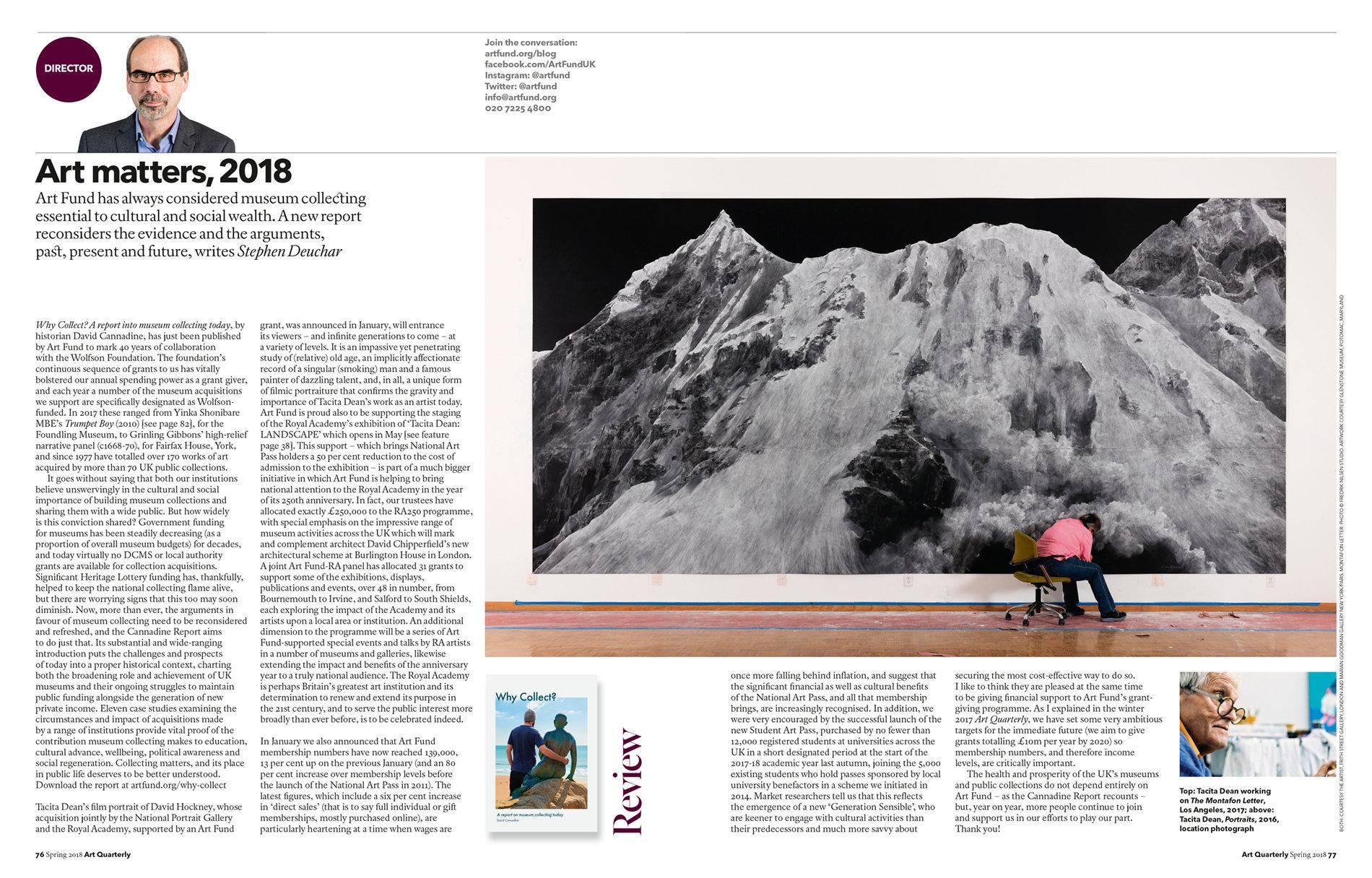 Art Quarterly Spring 2018