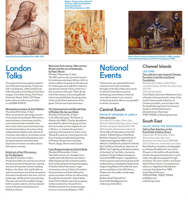 AQ Autumn 2016 Events Booklet