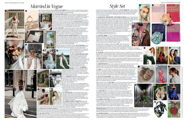 Vogue August 2021