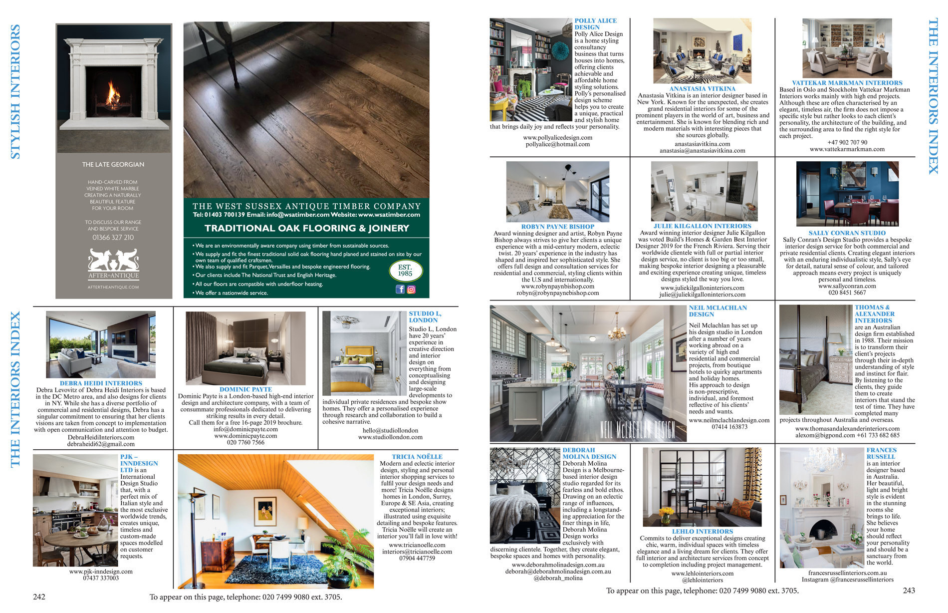 World of Interiors April 2019