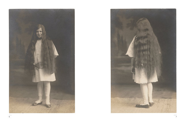 Kasmin's Postcards - Hair