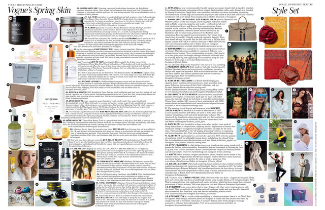 Vogue March 2021