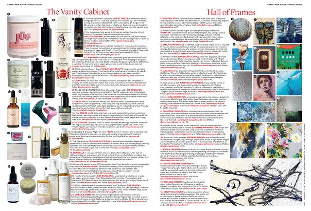 Vanity Fair January 2021