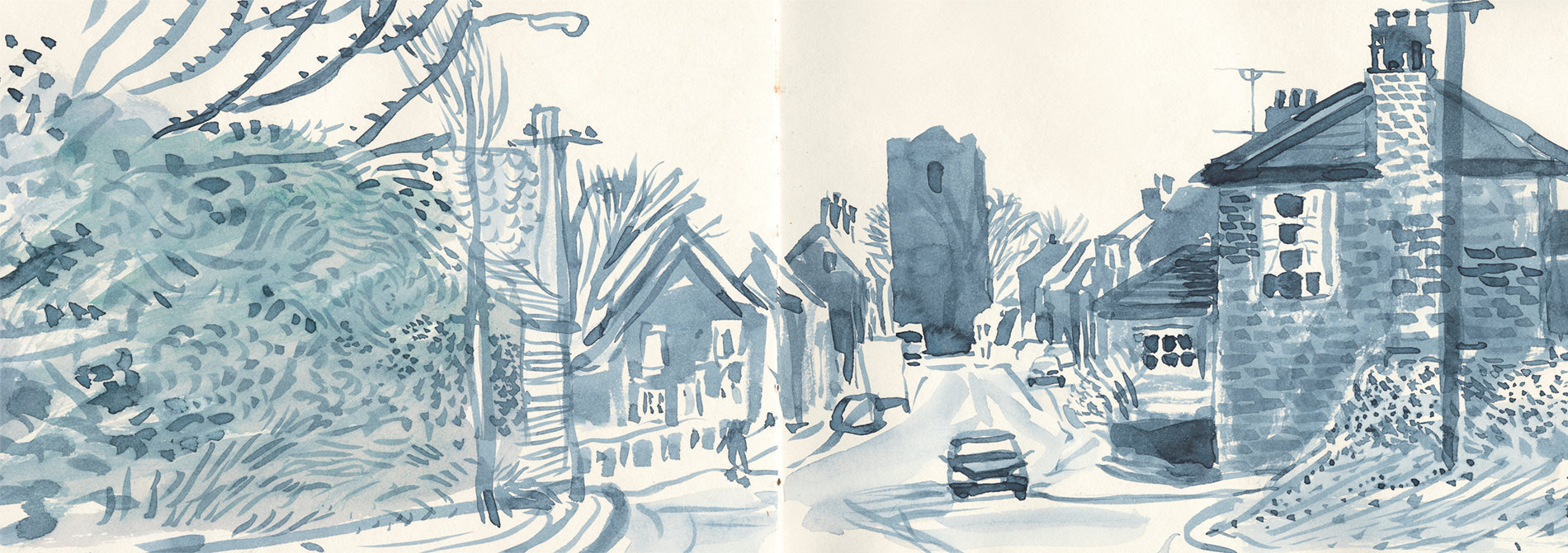 David Hockney - a Yorkshire sketchbook