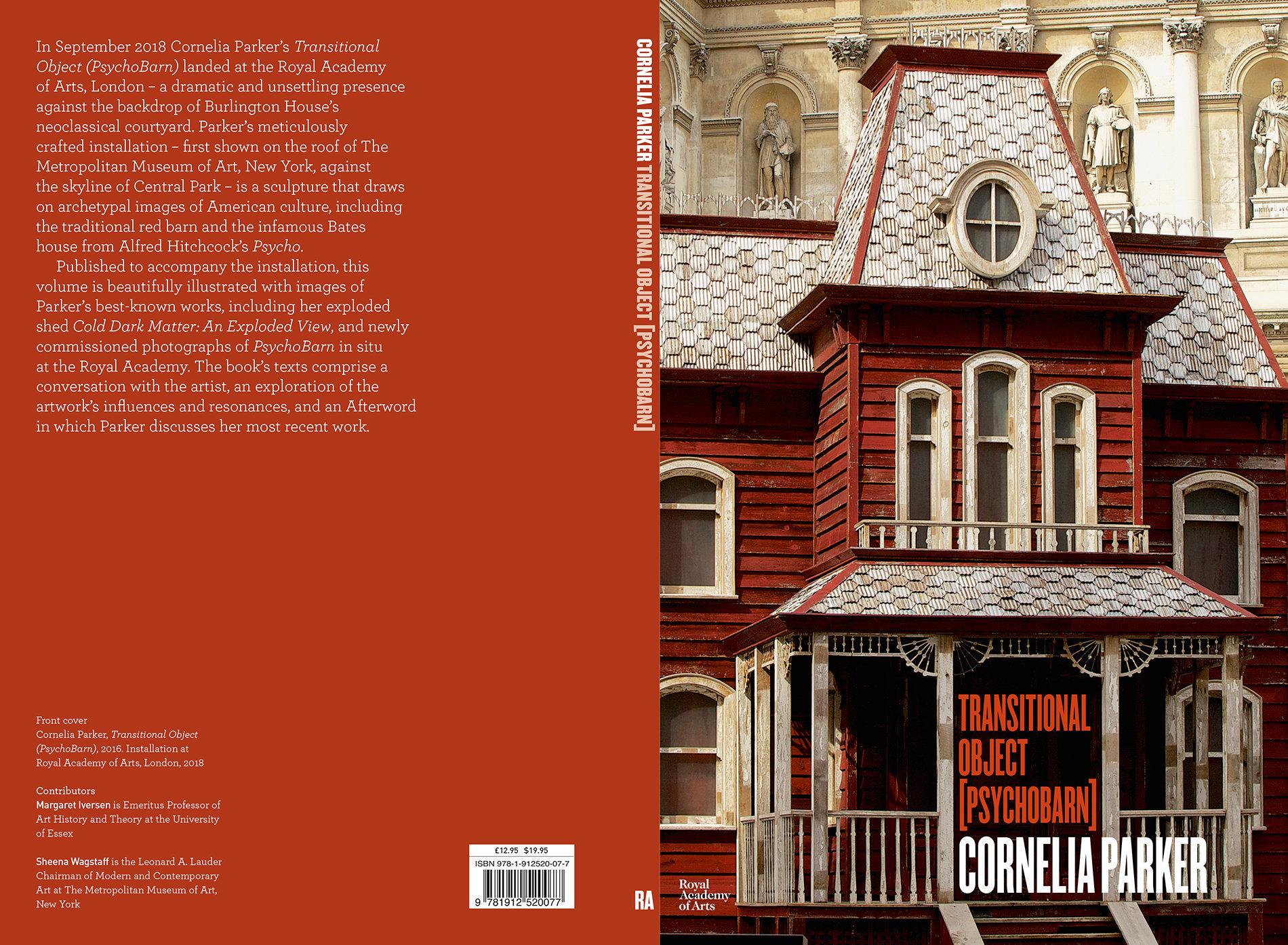 Cornelia Parker - Transitional object (Psychobarn)