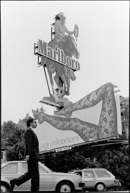 Sunset Boulevard pedestrian and billboards.jpg