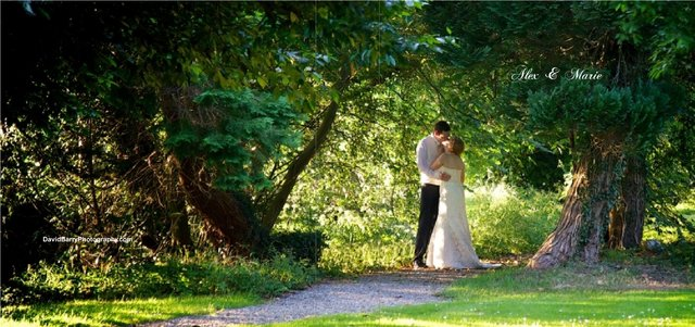 The Kiss at Mitton Hall