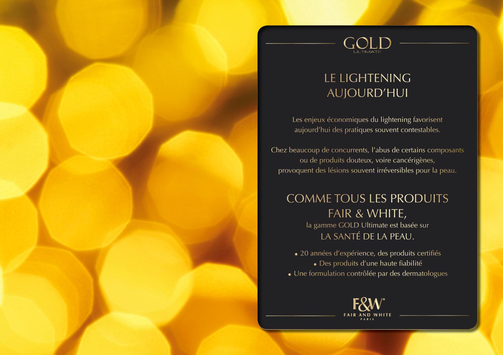"""<font color=""""#aaa7a6"""">Gold : présentation de la gamme (8/20).</font>"""