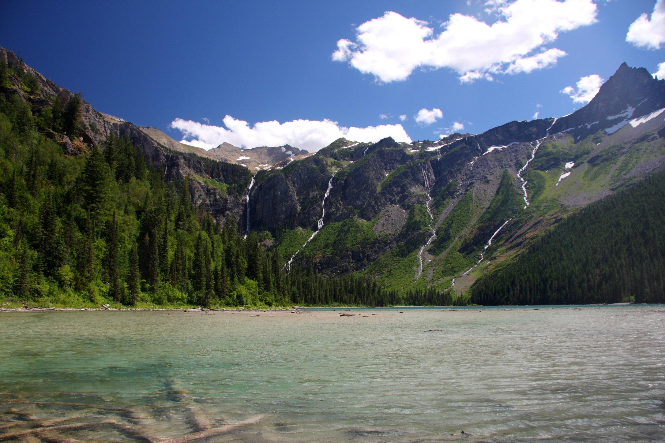 Avalanche Lake, Glacier National Park, Montana