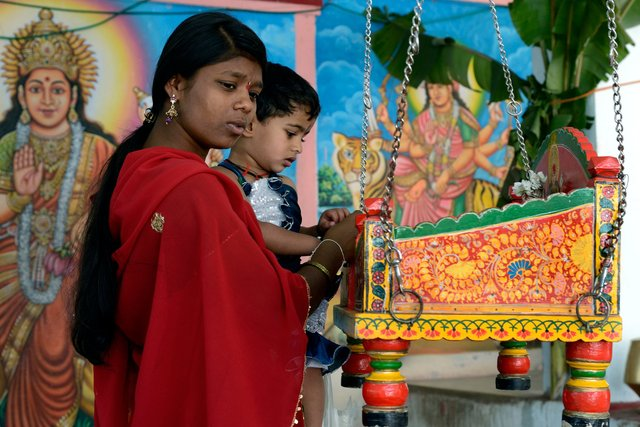 God's swing - India