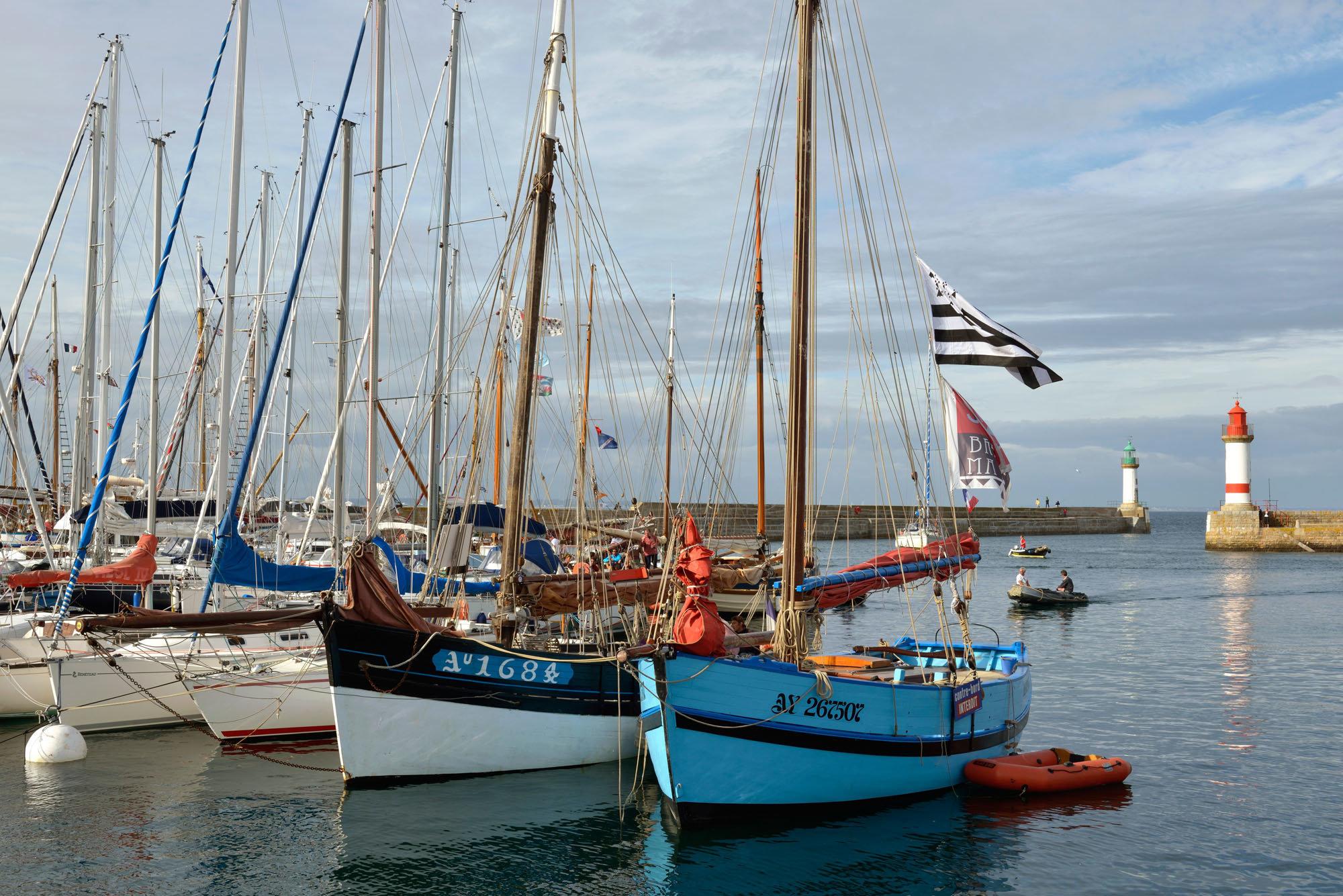 Île de Groix, Port Tudy