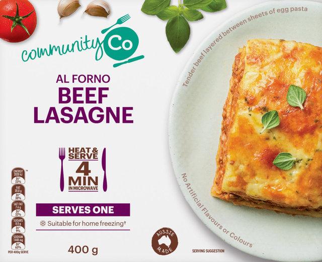 624228 CommunityCo Al Forno Beef Lasagne 400g 2.jpg