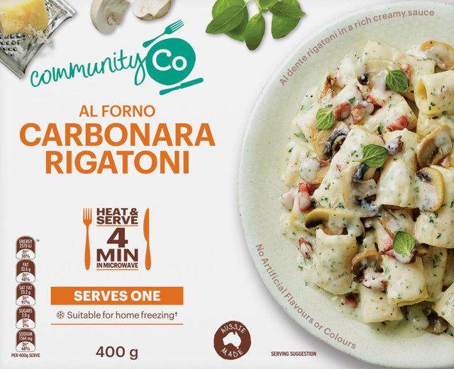 626351 CommunityCo Al Forno Carbonara Rigatoni 400g 2 copy.jpg