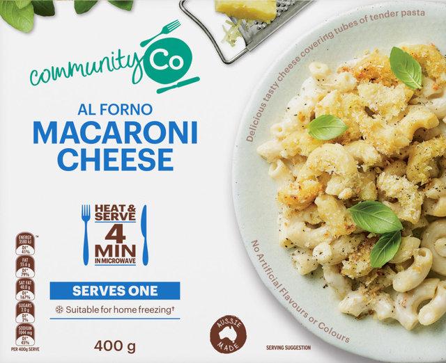 624692 CommunityCo Al Forno Macaroni Cheese 400g 2.jpg