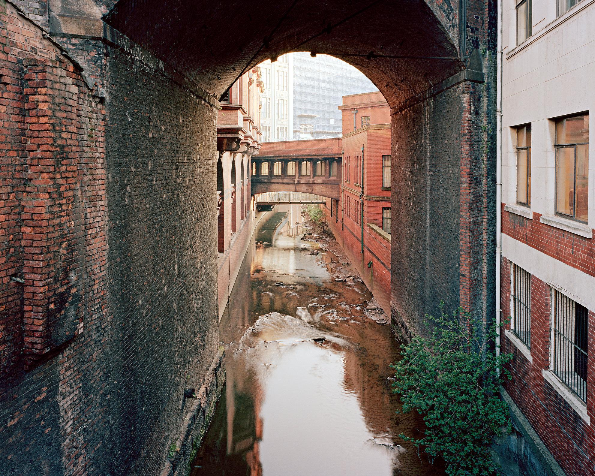 River Medlock, Central Manchester