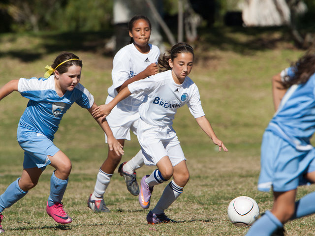 2010 U11G Westside Breakers White vs<br>Crescenta Valley SC
