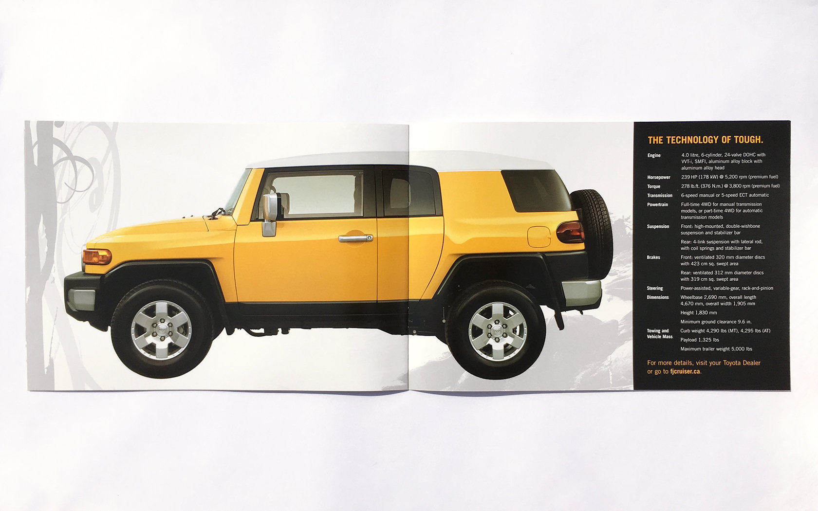 TOYOTA FJ CRUISER LAUNCH DM  9/11