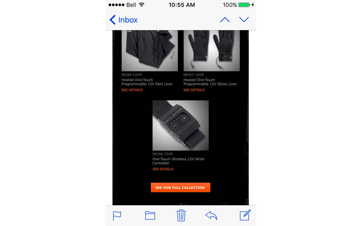HARLEY-DAVIDSON ACCESSORIES EMAIL  4/10