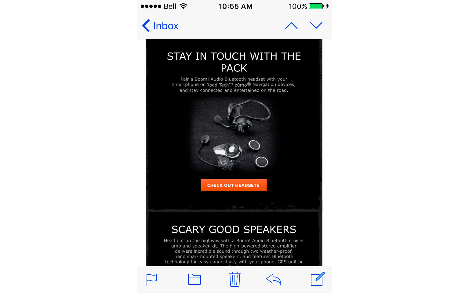 HARLEY-DAVIDSON ACCESSORIES EMAIL  6/10