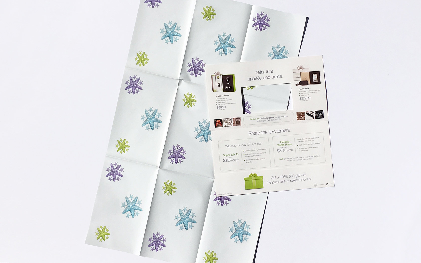 TELUS HOLIDAY DIRECT MAIL  4/4