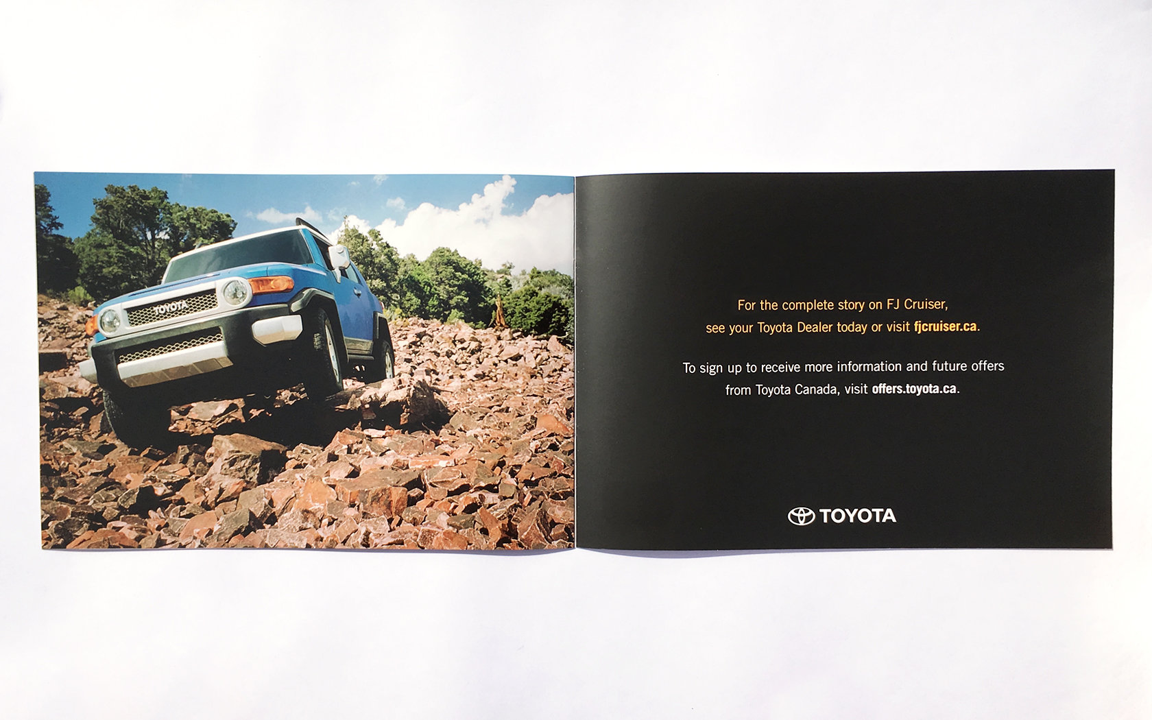 TOYOTA FJ CRUISER LAUNCH DM  10/11