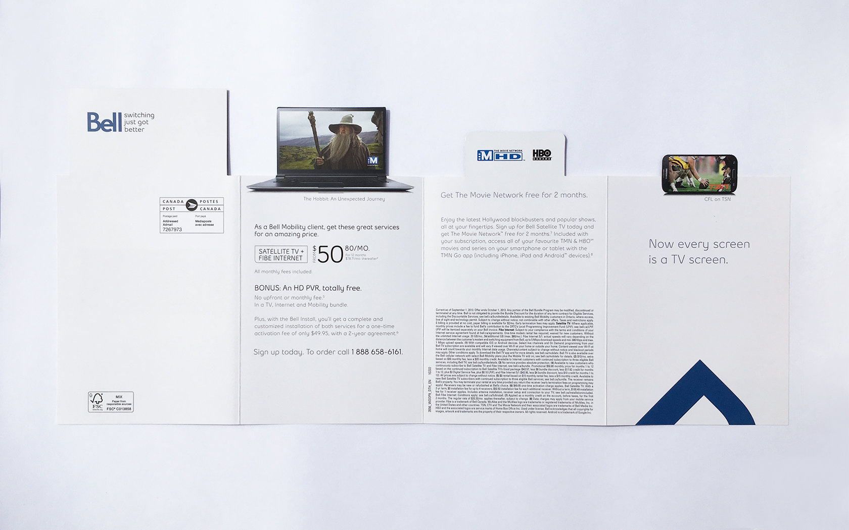 BELL DIRECT MAIL  5/5