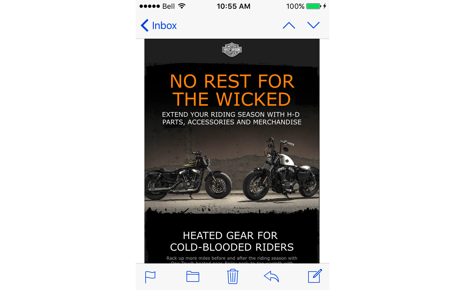 HARLEY-DAVIDSON ACCESSORIES EMAIL  2/10
