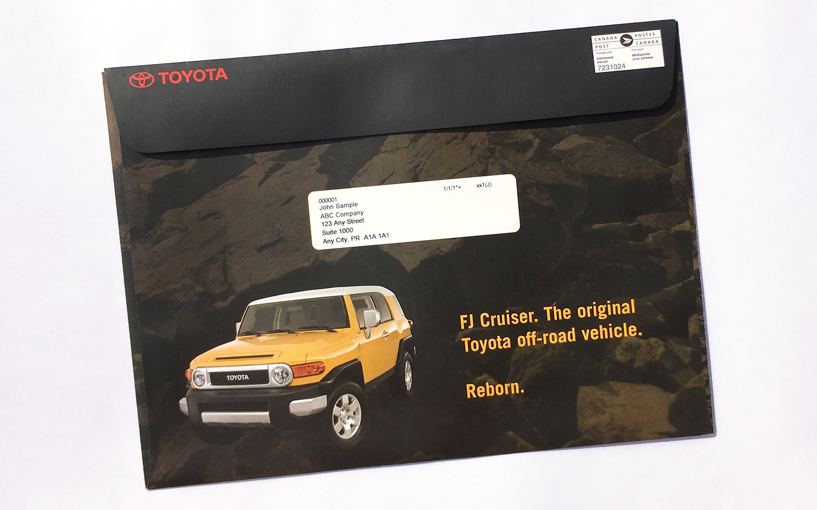 TOYOTA FJ CRUISER LAUNCH DM  2/11