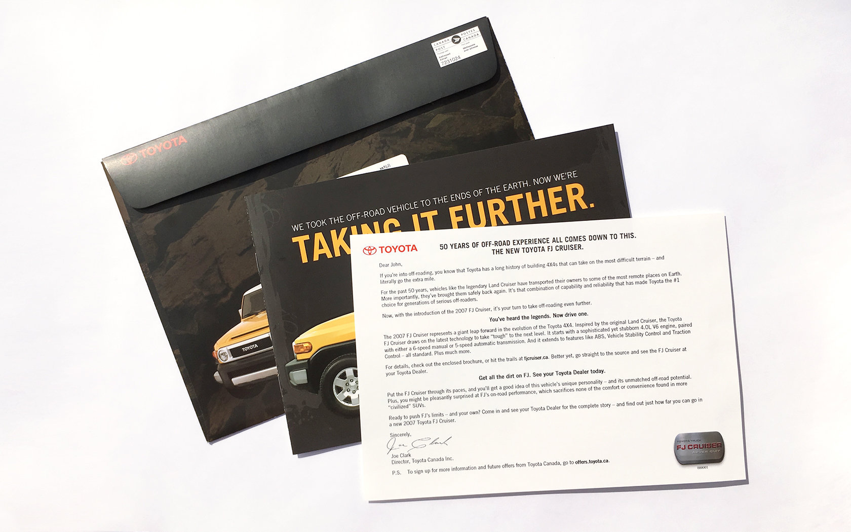 TOYOTA FJ CRUISER LAUNCH DM  3/11