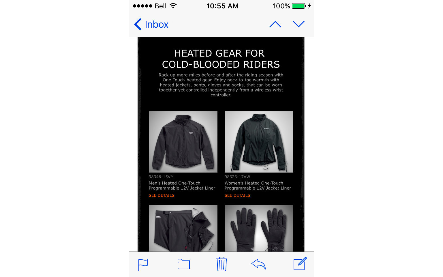 HARLEY-DAVIDSON ACCESSORIES EMAIL  3/10