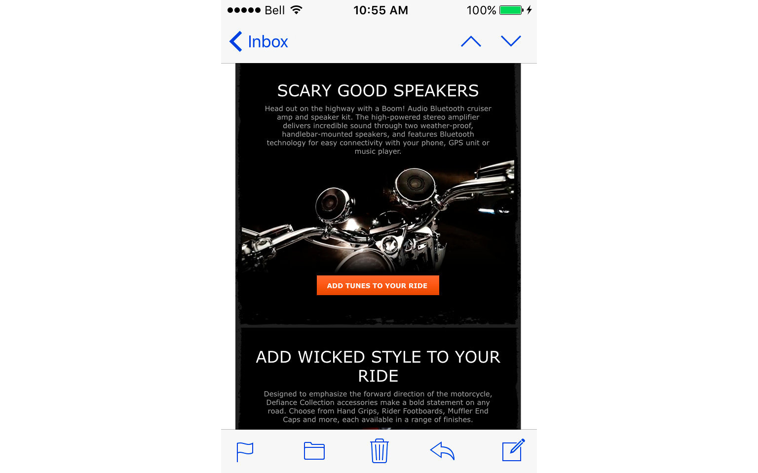 HARLEY-DAVIDSON ACCESSORIES EMAIL  7/10