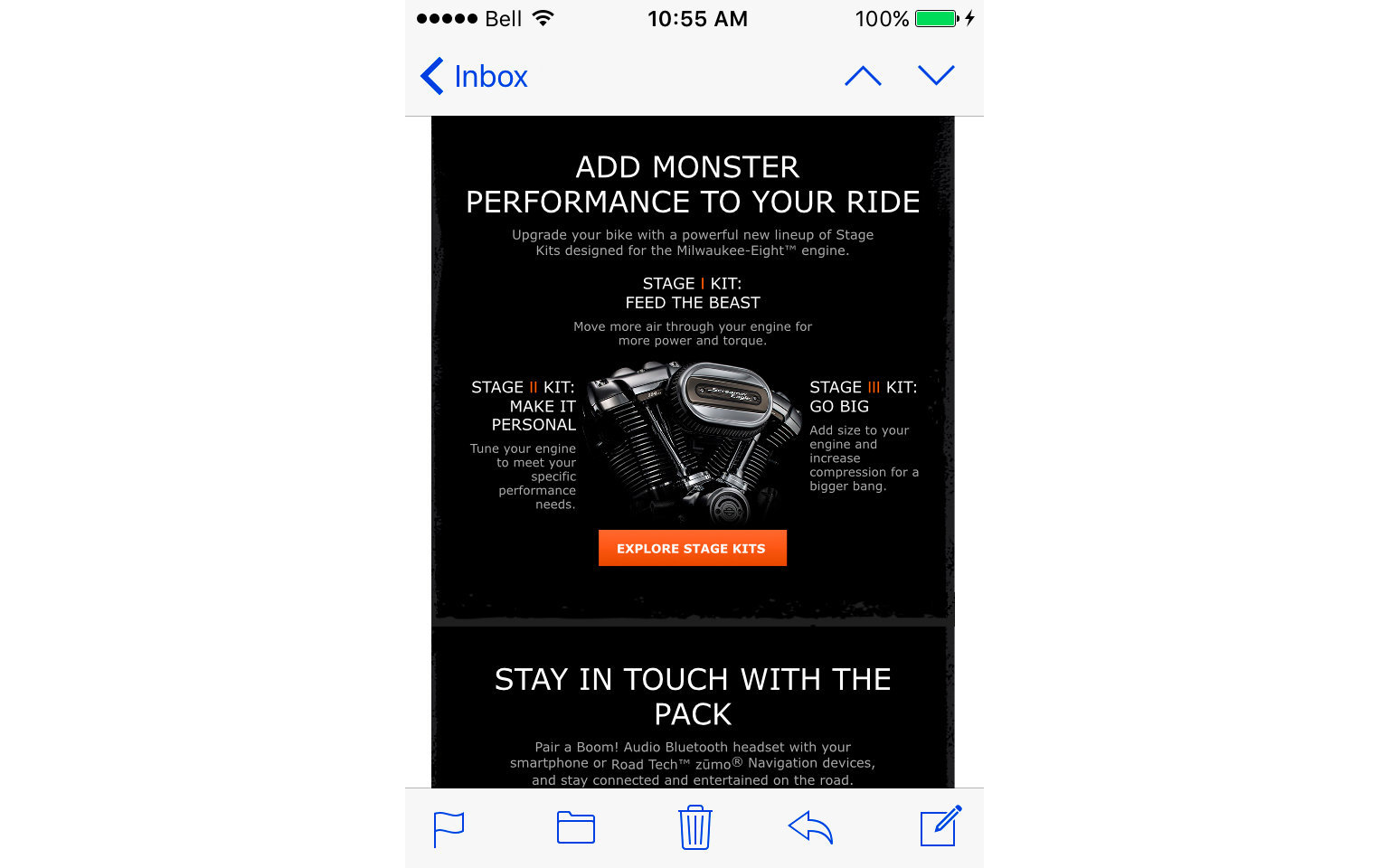 HARLEY-DAVIDSON ACCESSORIES EMAIL  5/10