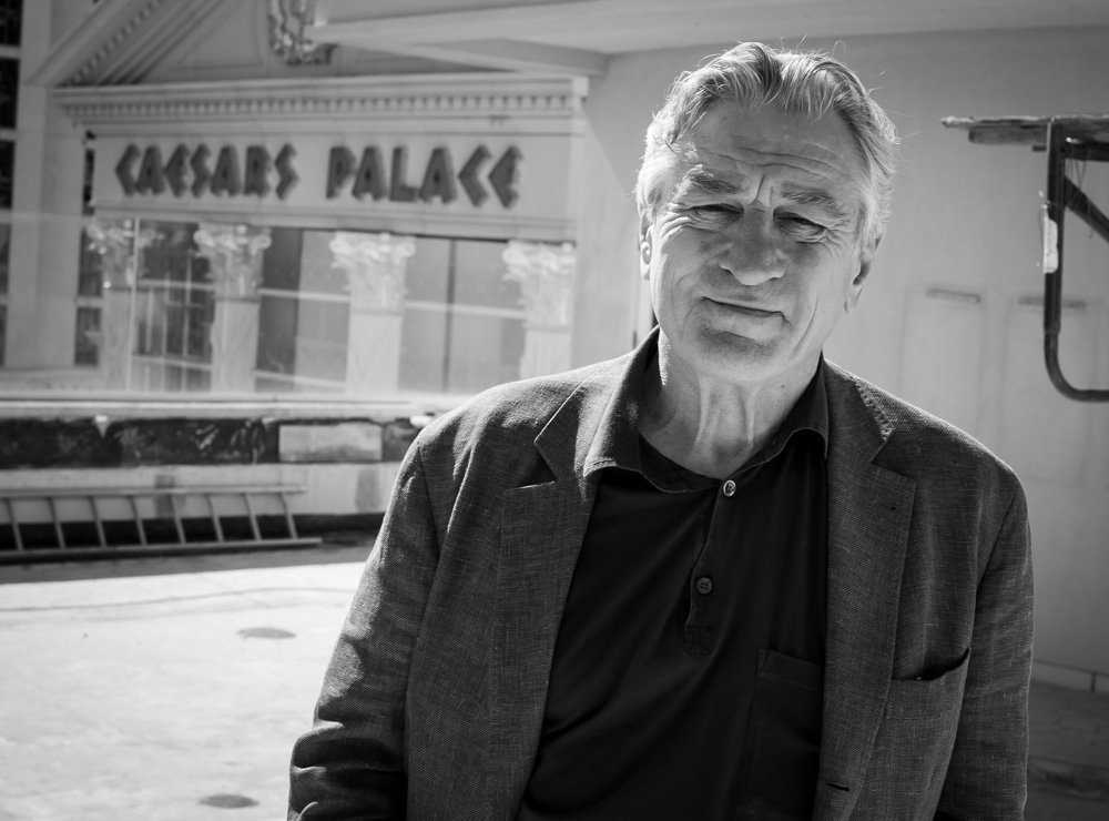 Robert De Niro visits the villa at his new NOBY project at Caesars Palace