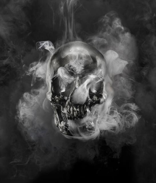 Combusting Skull