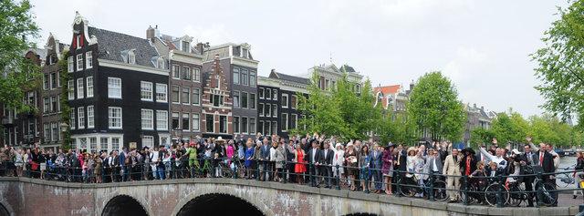 Amsterdam groep Gerard en Jeroen