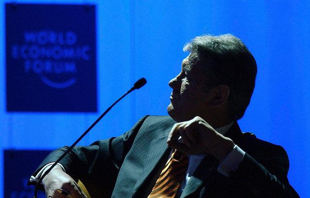 Victor Yushchenko - Davos WEF - 2005