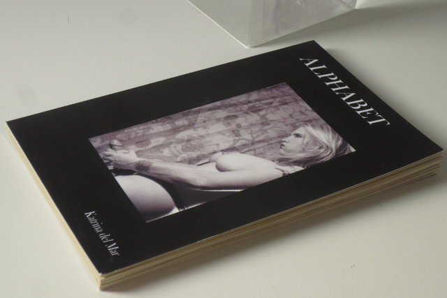 KATRINA DEL MAR_Alphabet  _4.5x6x.75in handmade paperback book_2013