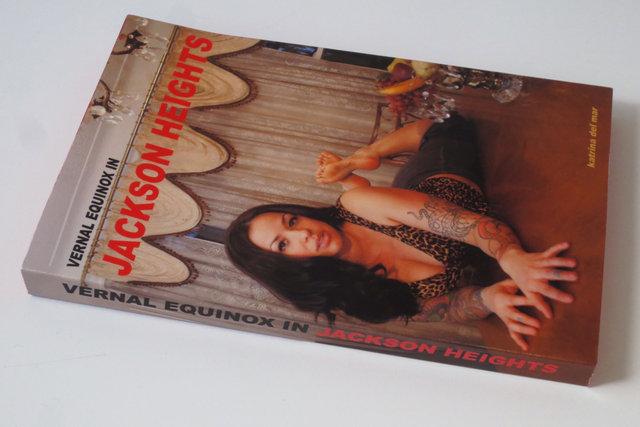 KATRINA DEL MAR_Vernal Equinox in Jackson Heights _4.5x6x.75in handmade paperback book_2013