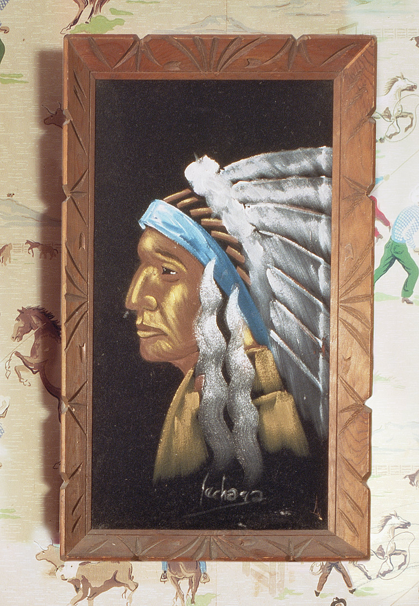 Native American Chief detail