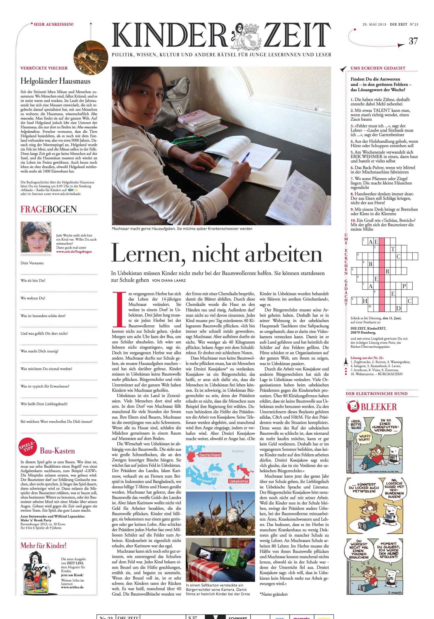 Die Zeit 29.05.2013