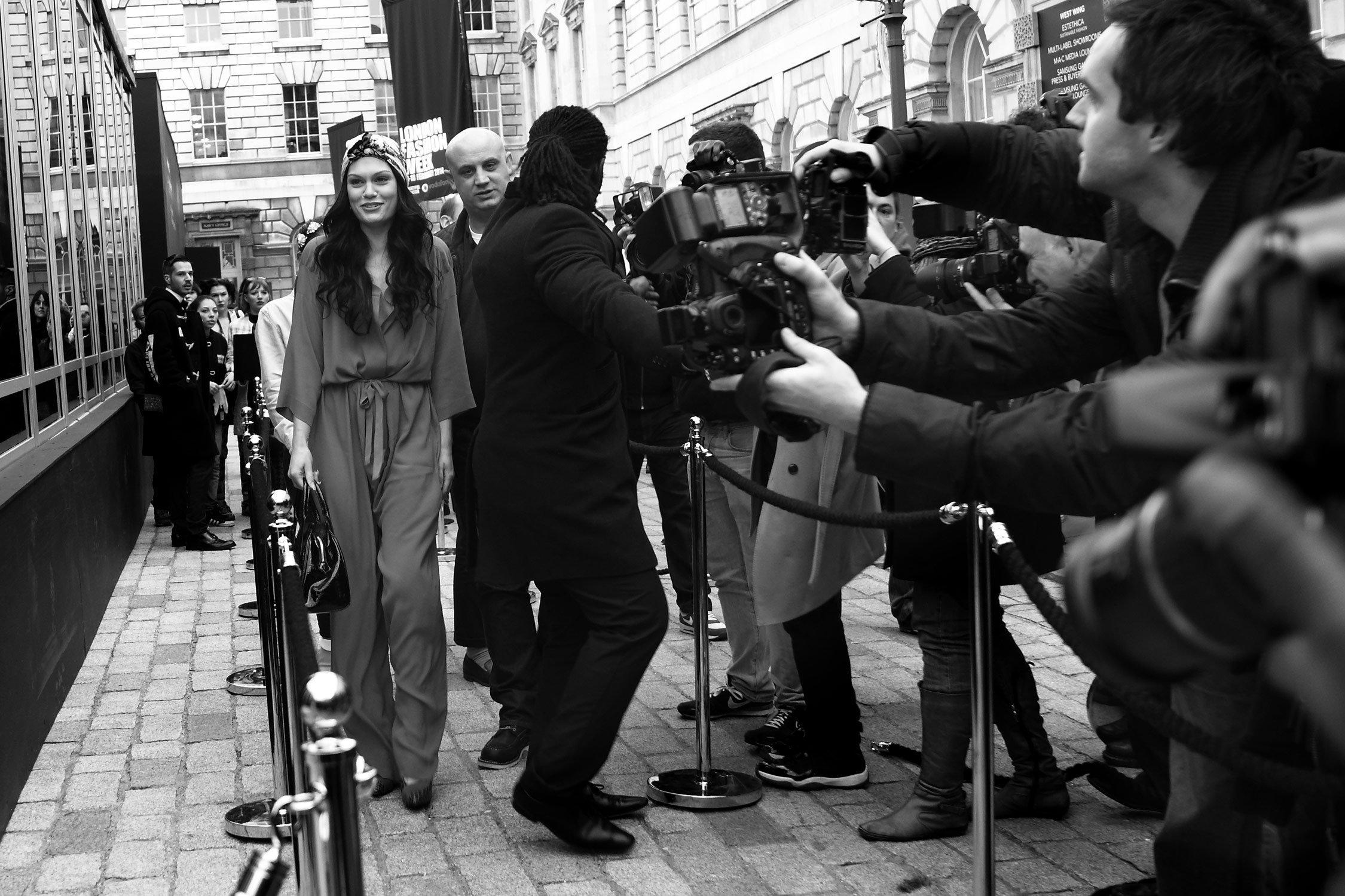 LFW 2014 - London UK