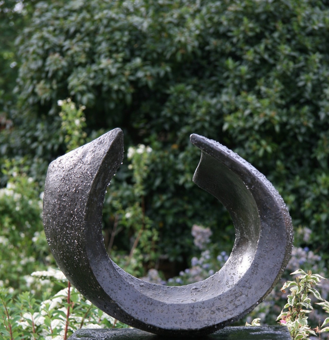 Abstract Wave  2005  37 x 47 x 34cm  Bronze Resin  RP £1950near Stratford