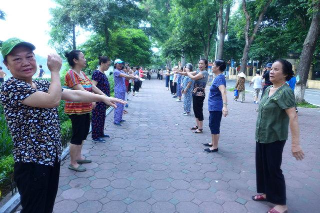 aerobics, Hanoi
