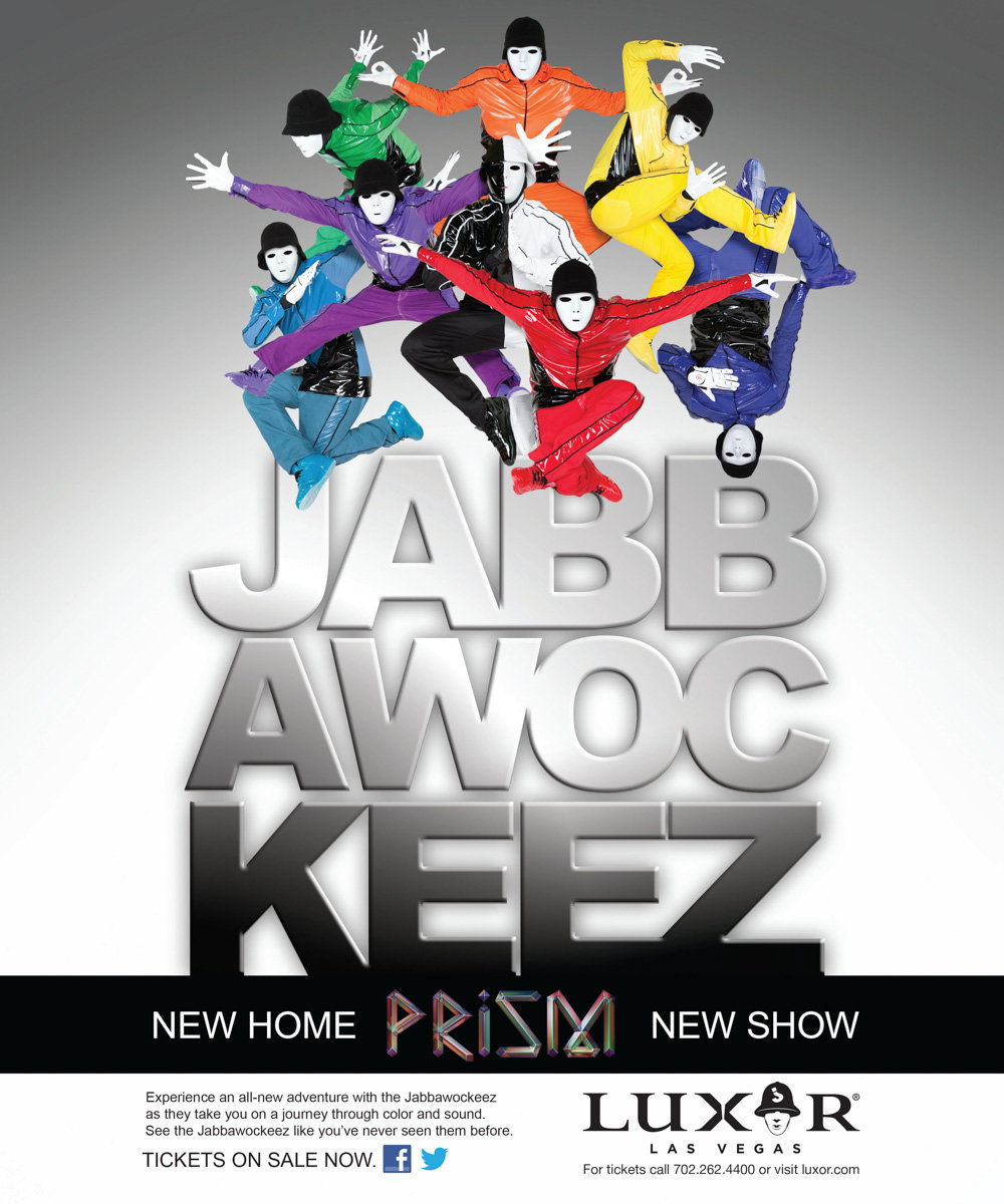 JABBAWOCKEEZ new show at Luxor