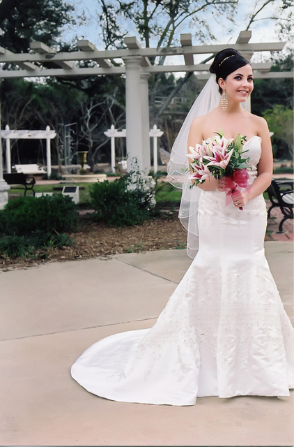 BRIDE- TAYLOR CRAPPS Makeup, stying by Russell Adair.