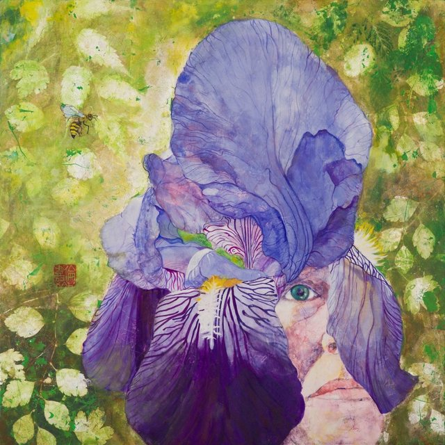Purple Iris Faith