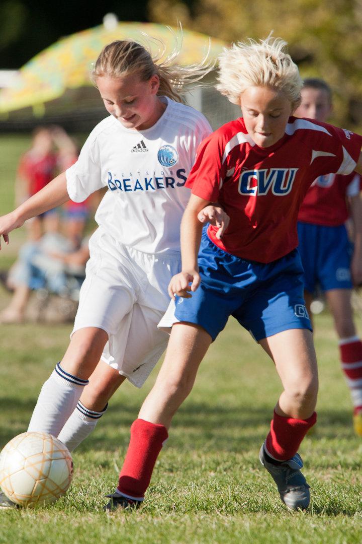 2010 U11G Westside Breakers White vs CVU