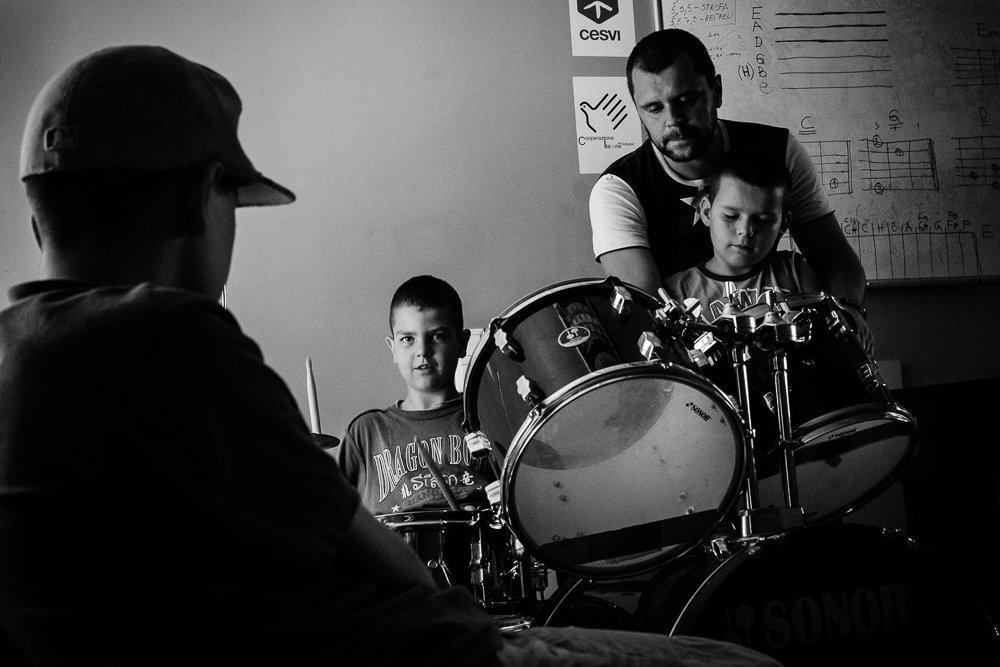 Unknown boy, Mitar Zdravko and Nikola.